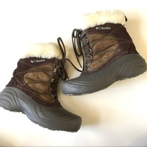 Columbia Sierra Summette Lace Up Winter Boots